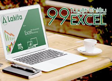 99 tuyệt chiêu Excel dành cho người đi làm, học excel cơ bản, hoc excel co ban, excel kế toán, excel ke toan, làm chủ hóa đơn chứng từ, lam chu hoa don chung tu, lập báo cáo tài chính, lap bao cao tai chinh