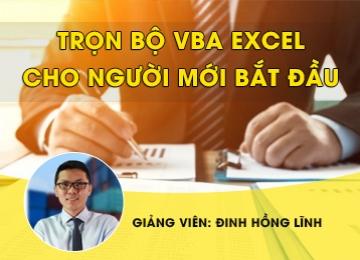 Trọn bộ VBA Excel cho người mới bắt đầu, học excel cơ bản, hoc excel co ban, excel kế toán, excel ke toan, làm chủ hóa đơn chứng từ, lam chu hoa don chung tu, lập báo cáo tài chính, lap bao cao tai chinh