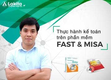 Thực hành kế toán trên phần mềmFAST và MISA, học excel cơ bản, hoc excel co ban, excel kế toán, excel ke toan, làm chủ hóa đơn chứng từ, lam chu hoa don chung tu, lập báo cáo tài chính, lap bao cao tai chinh